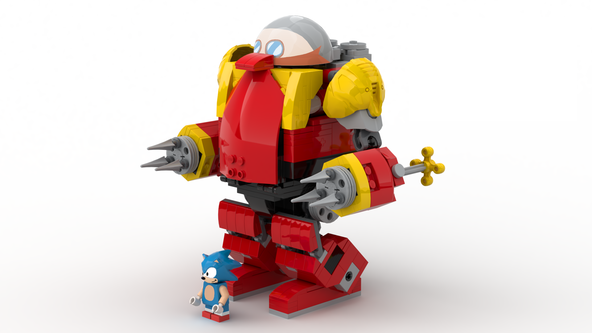 Pictures Of Lego Ideas Features A Proposed Sonic The Hedgehog Set 4 8