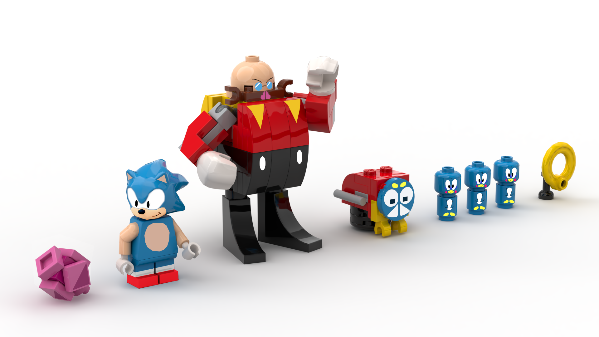 Pictures Of Lego Ideas Features A Proposed Sonic The Hedgehog Set 7 8