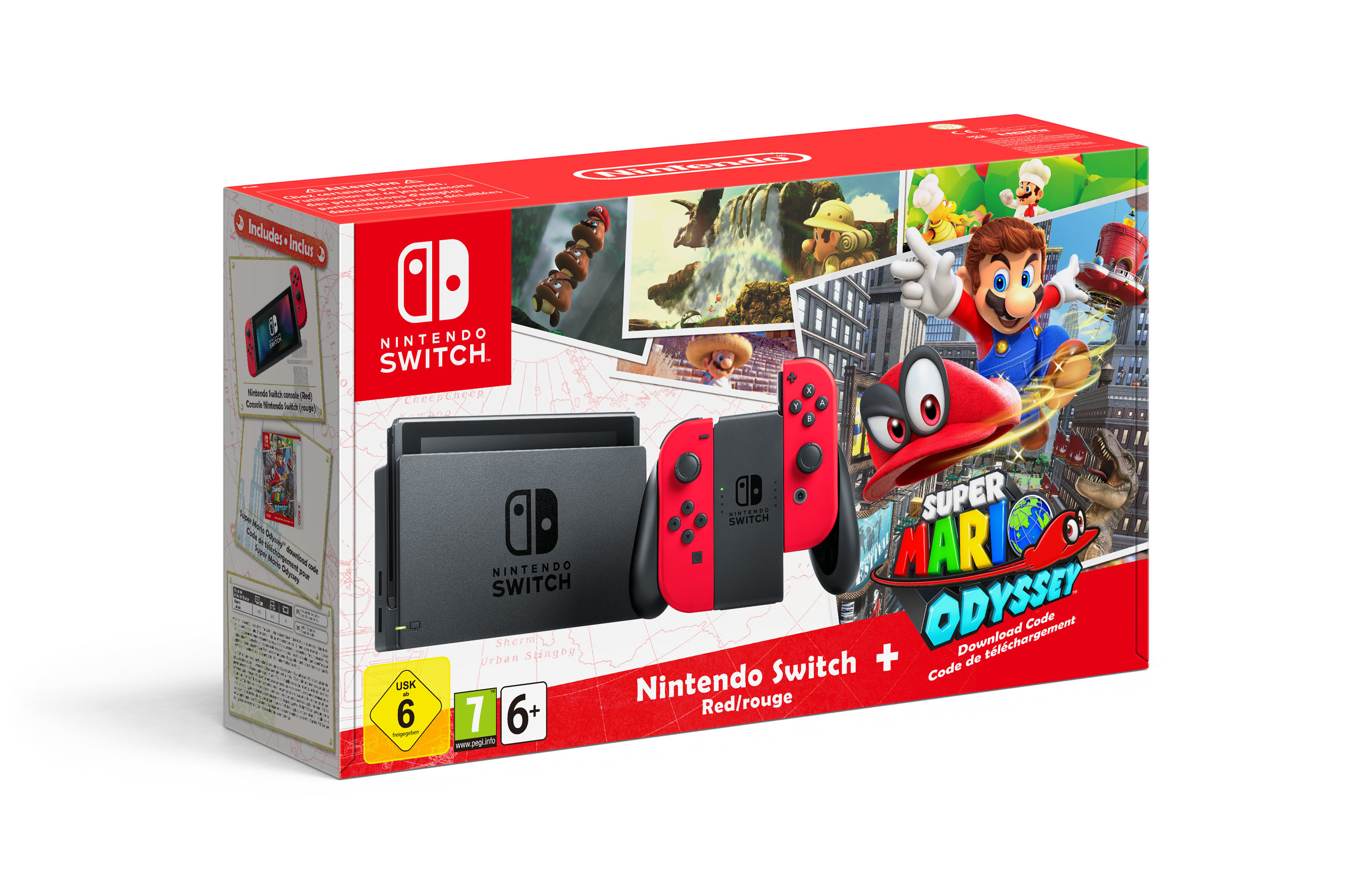 Super Mario Odyssey Switch Bundle Announced