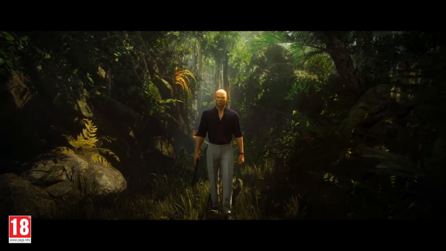 Check out the Colombian rain forest in Hitman 2's new trailer
