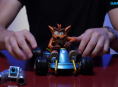Watch us unbox Crash Team Racing's car model
