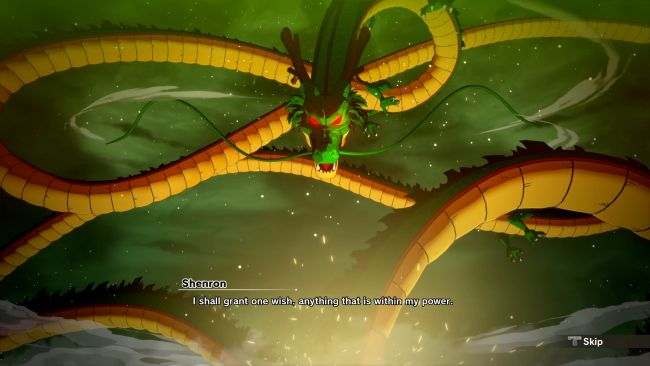 Dragon Ball Z: Kakarot lets you summon Shenron