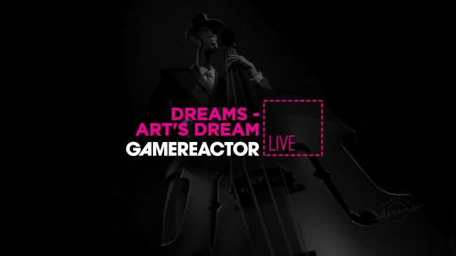 Dreams: We're going to sink into Art's Dream on GR Live