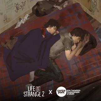 Life is Strange 2 partners with homeless charity Centrepoint
