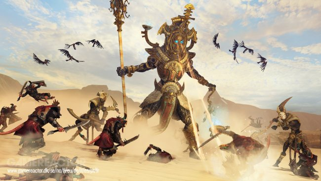 See TW: Warhammer II's Rise of the Tomb King in action
