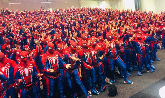 Marvel and Sony break record for largest Spider-Man gathering