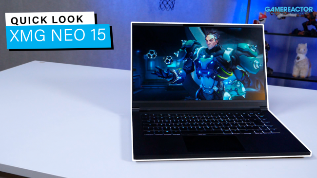 XMG's Neo 15 laptop gets a Quick Look