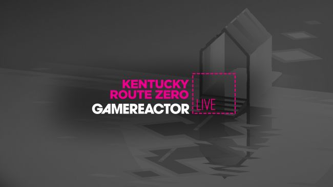 We're playing Kentucky Route Zero on today's stream