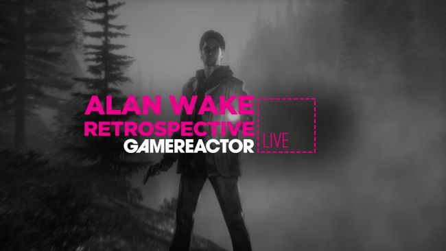 We're revisiting Alan Wake on today's stream