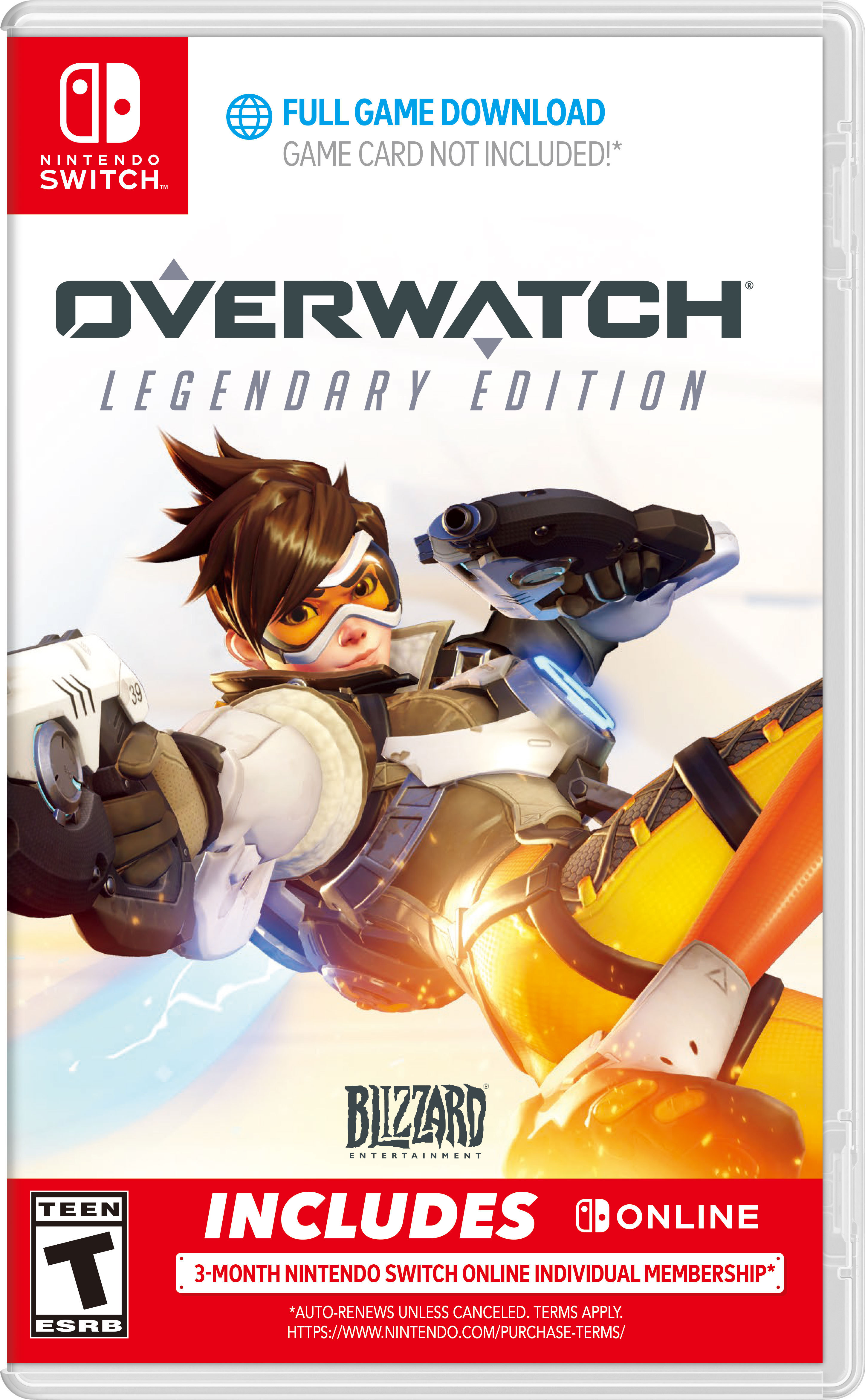 Overwatch heads to Nintendo Switch in October