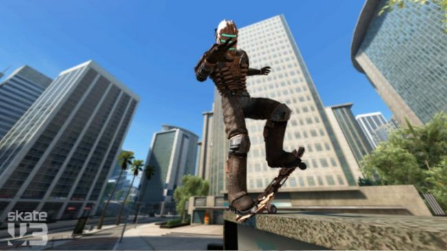 Play as Isaac Clarke in Skate 3