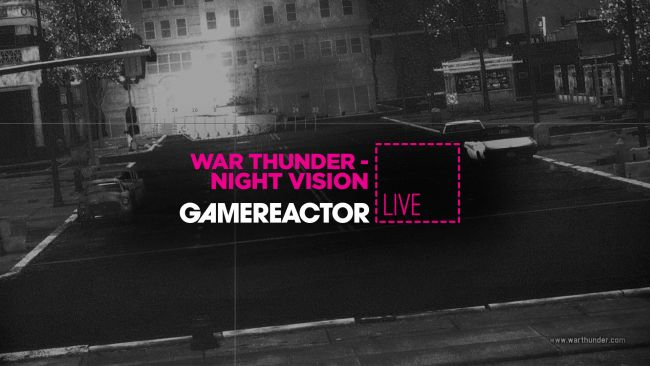 Today's stream is War Thunder's Night Vision update