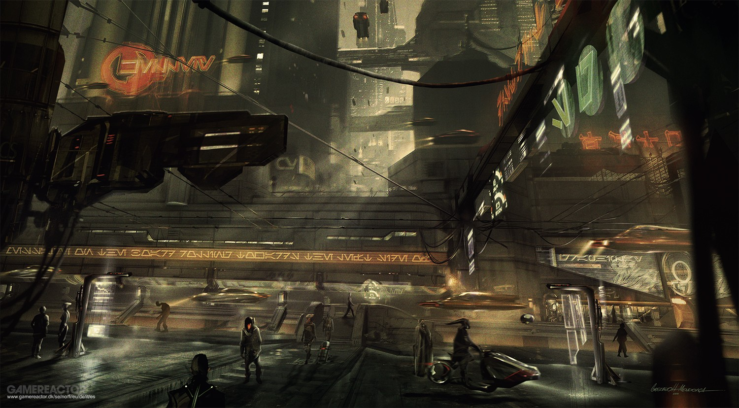 Concept art from Star Wars 1313
