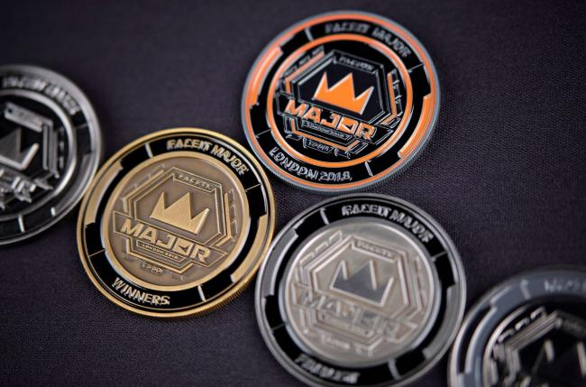 Commemorative coins available to buy at Faceit Major