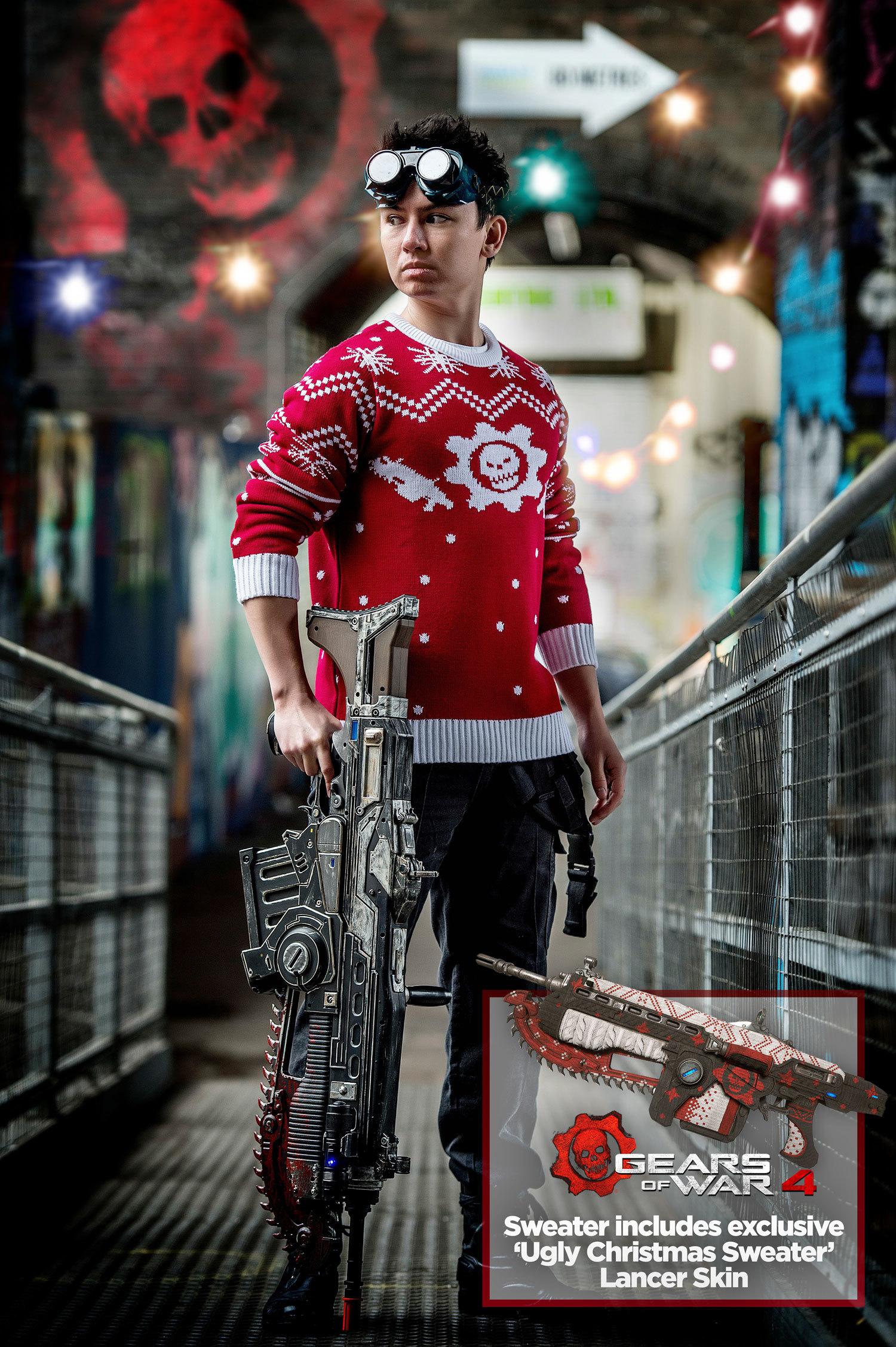 Pictures of Officially licensed Gears of War Christmas sweater ...