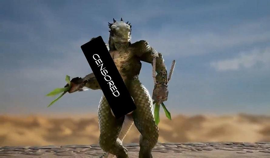 There are some well endowed Lizardmen in Soul Calibur VI