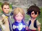 You can leave feedback on the Bravely Default II demo