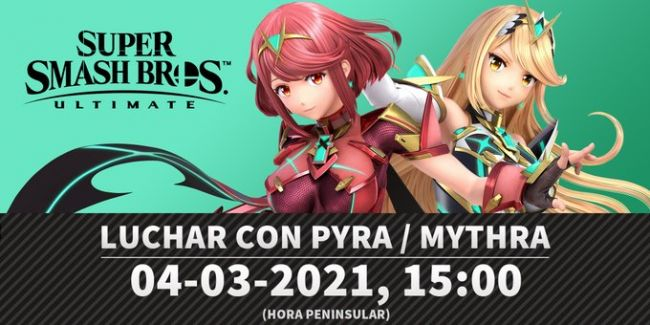 Super Smash Bros. Ultimate gets Pyra and Mythra tomorrow
