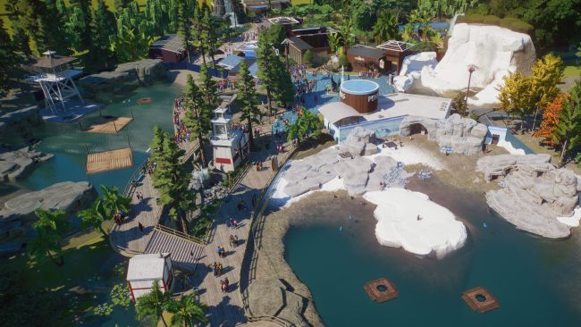 Giant Otters and King Penguins are coming to Planet Zoo