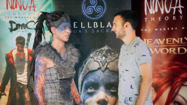 Hellblade's Senua interviewed in real life