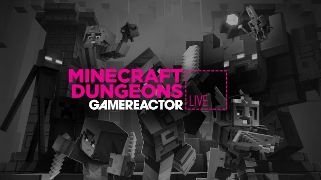 We're trying out Minecraft Dungeons on today's stream