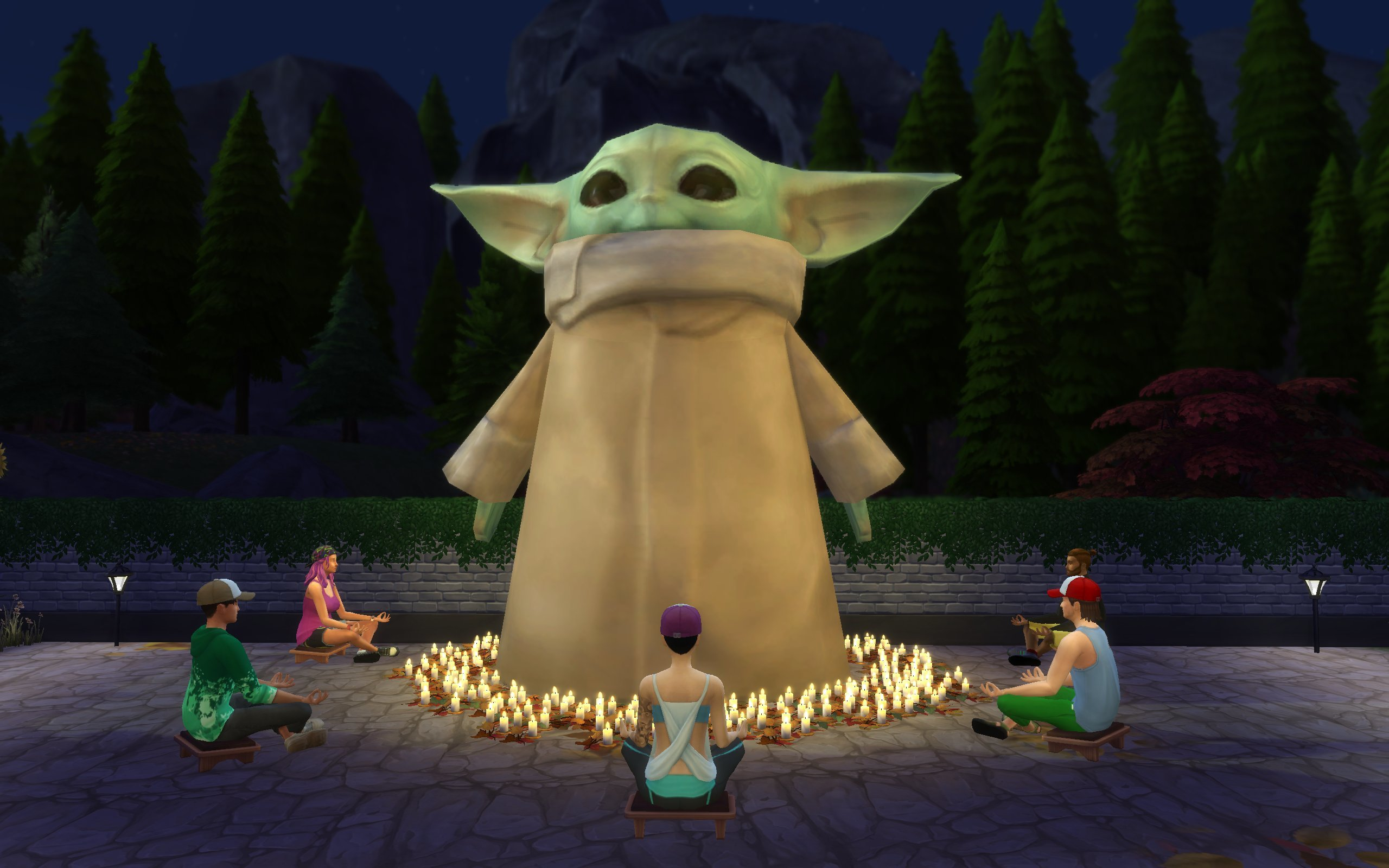 The Sims 4 Introduces Baby Yoda Into The Game