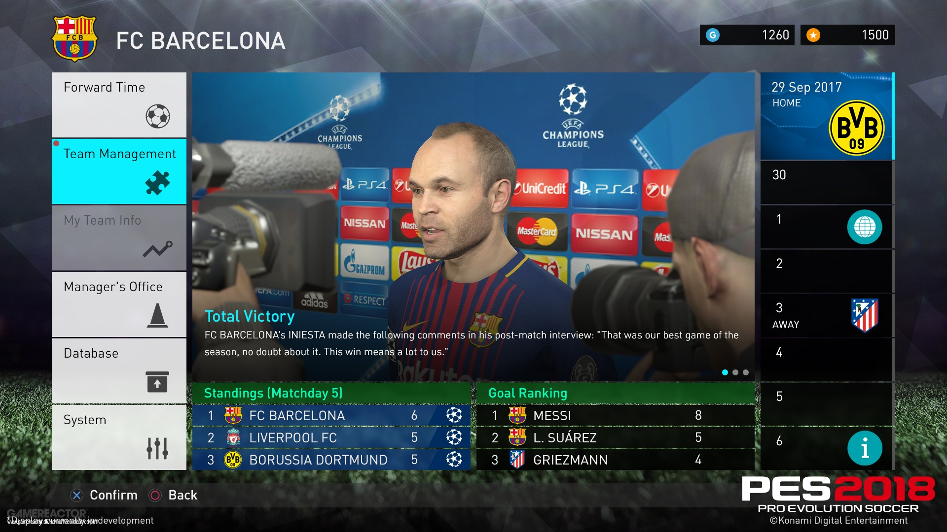 Release Clauses Are Key In Pes 2018 Master League Pro Evolution 2019 Pc Original Steam Offline Soccer Gamereactor