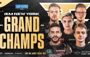 FaZe Clan are your 2020 IEM New York European Champions