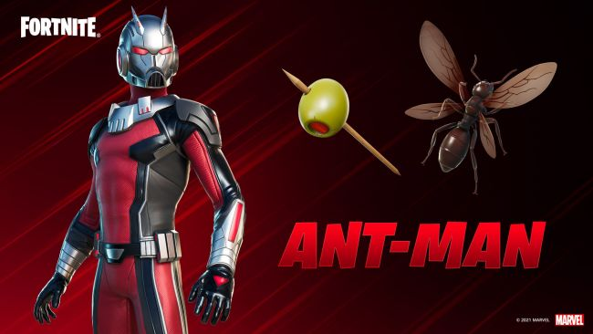 Ant-Man joins Fortnite