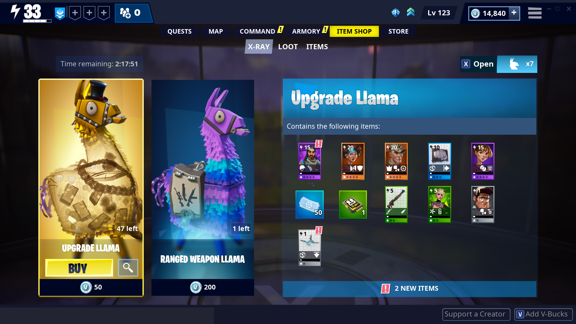 Fortnite Roadmap Save Tje Wpr D Pictures Of Fortnite S Save The World Llama Loot Is Getting Tweaked 1 2
