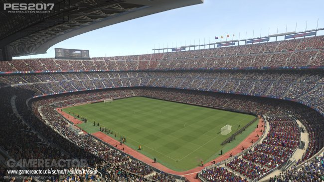 Camp Nou exclusive to PES 2017, won't appear in FIFA 17
