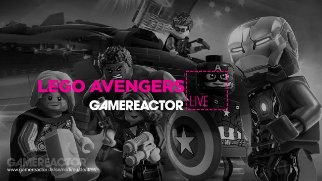 Two hours of Lego Marvel Avengers gameplay