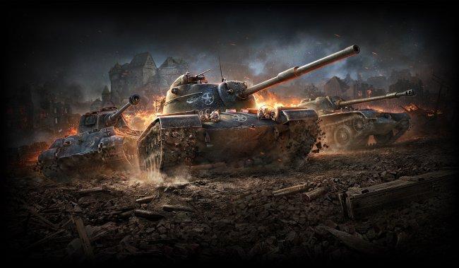 Blitz in of tanks world sign World of
