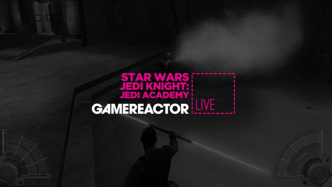 We're playing Star Wars Jedi Knight: Jedi Academy on GR Live