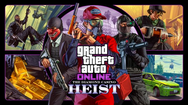 GTA Online's Diamond Casino Heist launches next week
