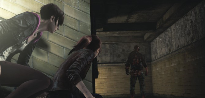 Resident Evil: One step back, one to the side