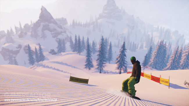 Snowboards are now playable in Snow