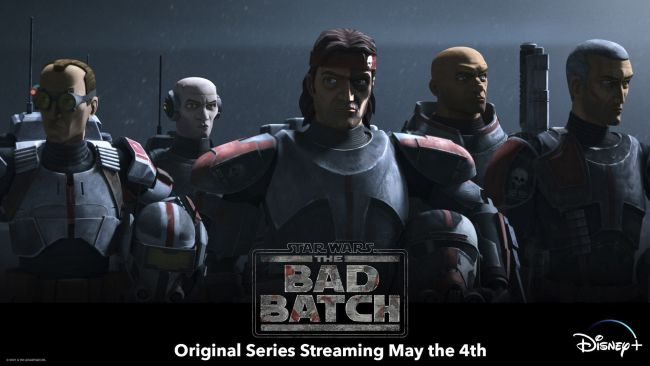 Clone Wars spin-off The Bad Batch to start on May 4