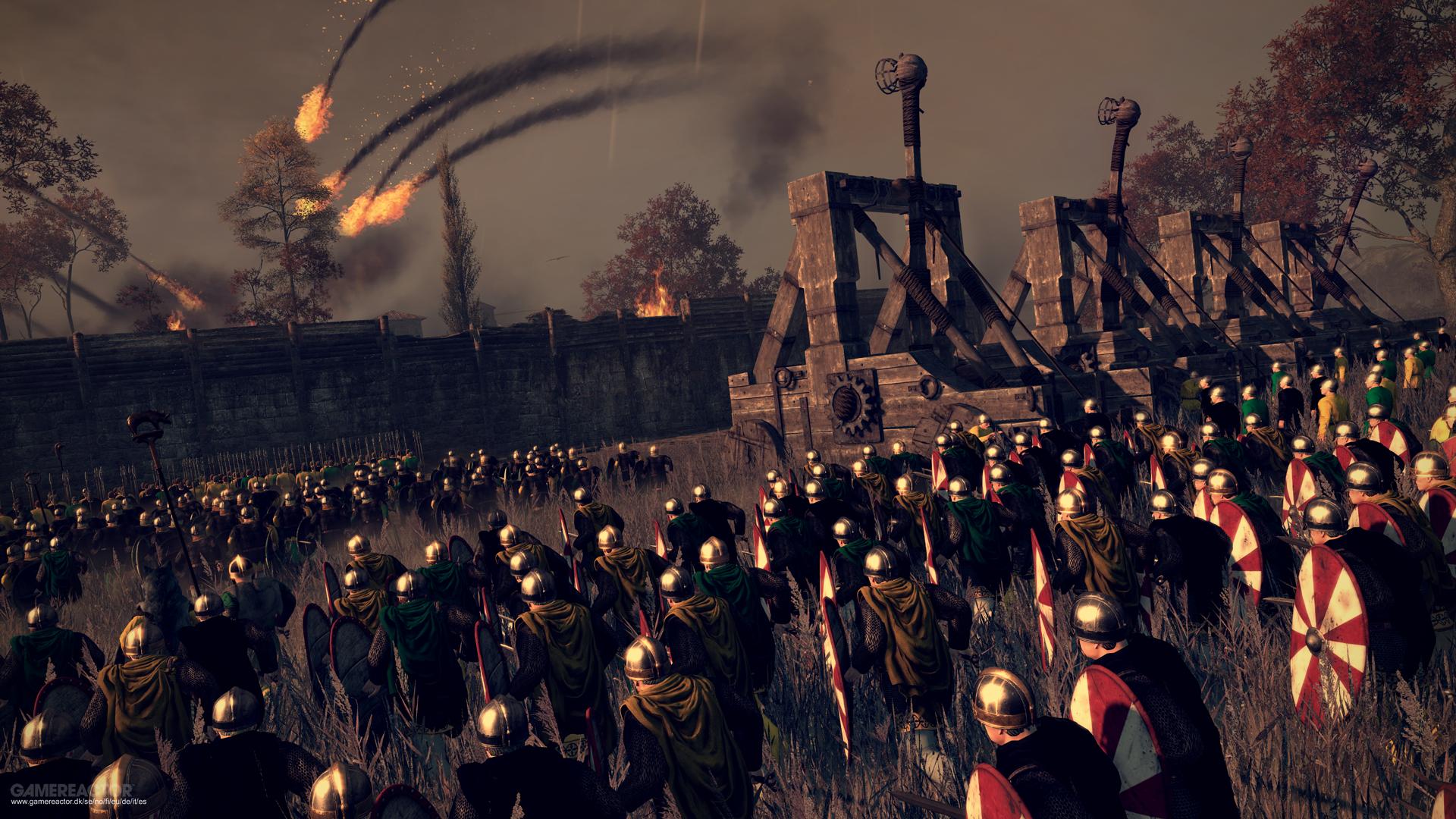 Attila Total War Wallpaper: Total War: Attila Review