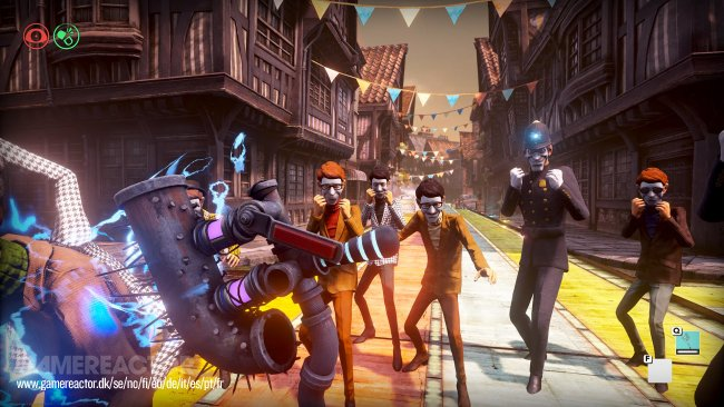Compulsion on the art of We Happy Few