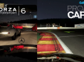 Gameplay comparison: Forza 6 vs Project CARS nighttime Spa