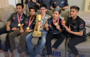 Aerowolf Limax are champions of PUBG Mobile Pro League Indonesia season 2