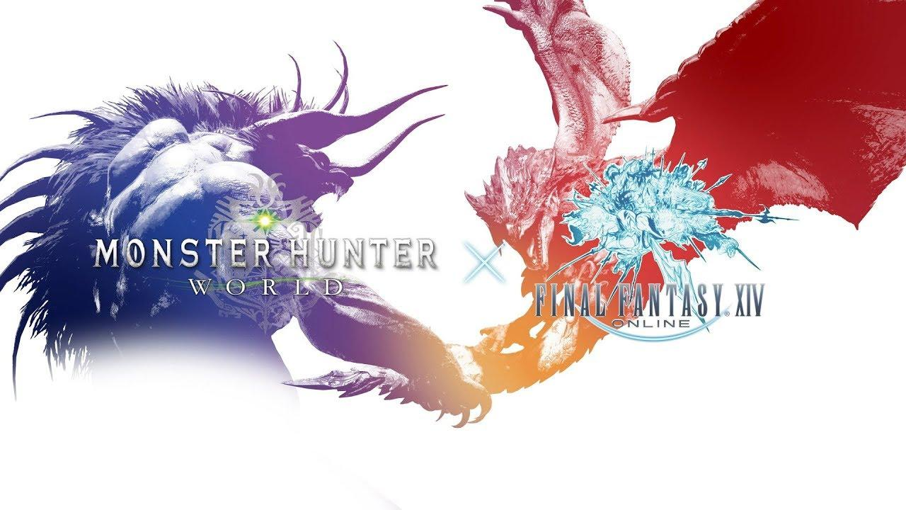 Final Fantasy Xiv S Behemoth Comes To Monster Hunter World
