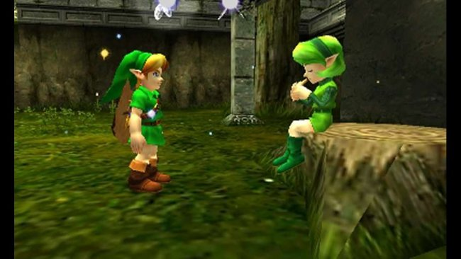 New Ocarina of Time 3DS screens