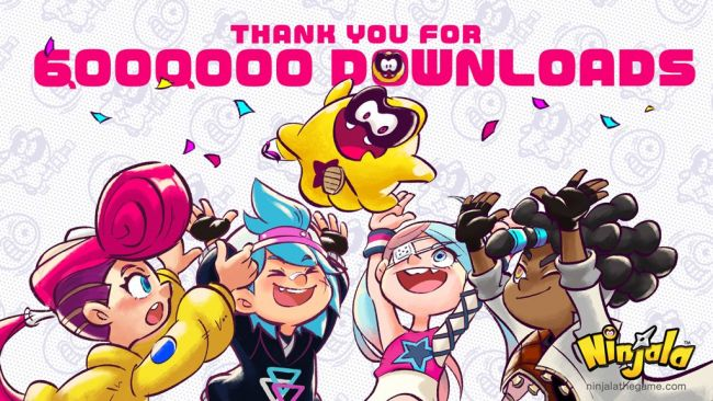 Ninjala has now been downloaded 6 million times on Nintendo Switch