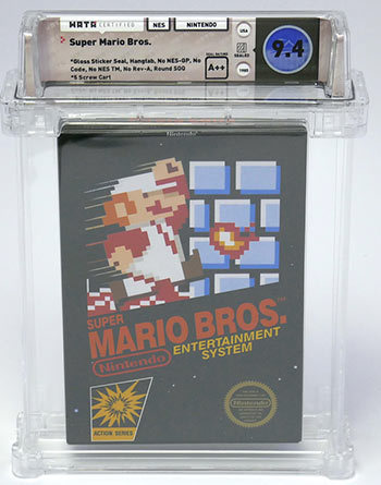 Original copy of Super Mario Bros. fetches $100K at auction