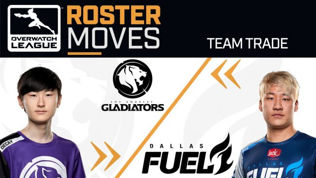 Dallas Fuel trade OGE to the Gladiators for Decay