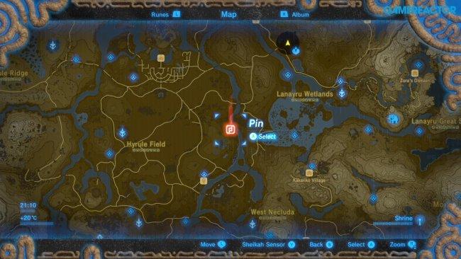 The Secrets Of The Legend Of Zelda Breath Of The Wild