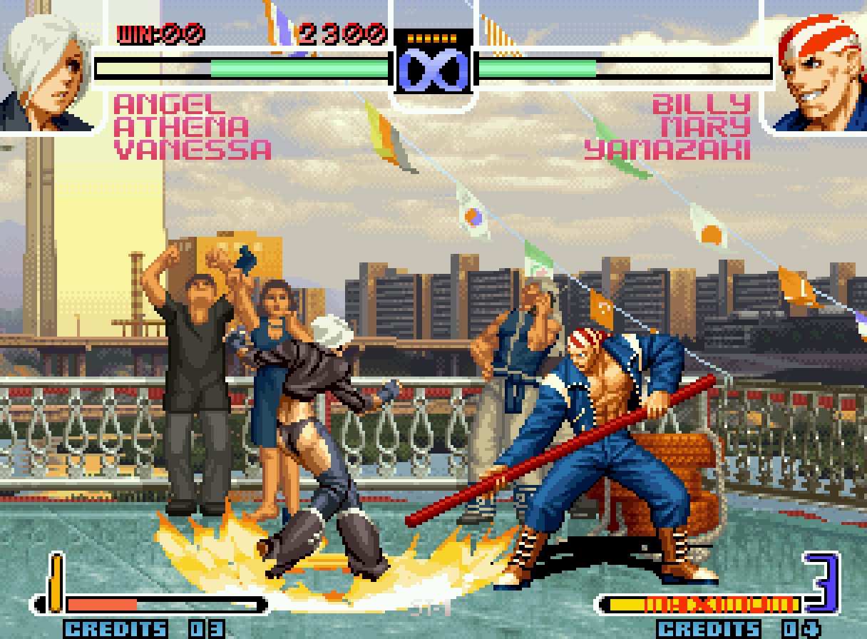 Pictures Of The King Of Fighters 2002 Unlimited Match 1 6