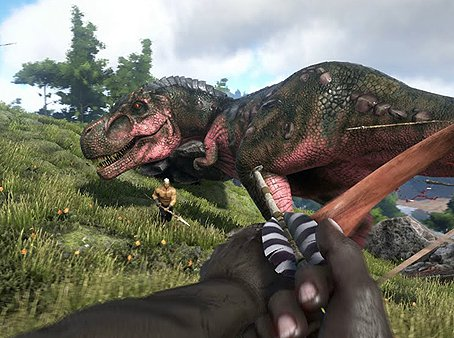 Multiplayer split-screen to ARK: Survival Evolved